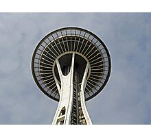 """""""Space Needle""""  by Carter L. Shepard Photographic Print"""