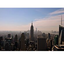 New York state of mind (color) Photographic Print