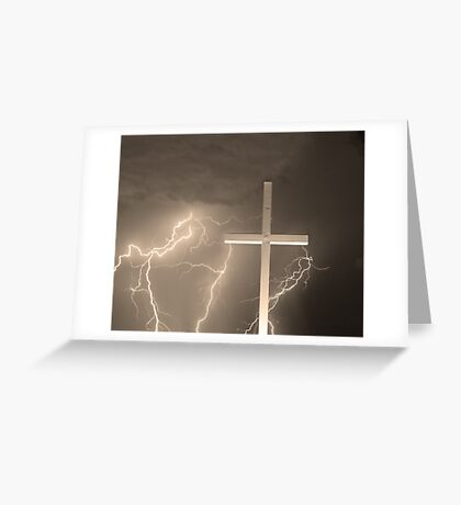 Good Friday in Sepia Greeting Card