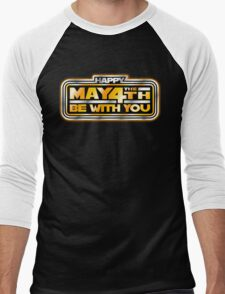 Happy May the 4th!  Men's Baseball ¾ T-Shirt