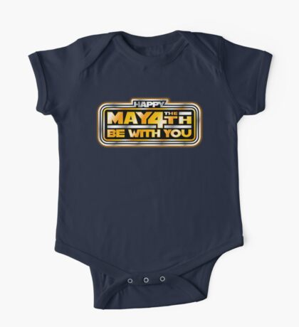 Happy May the 4th!  One Piece - Short Sleeve