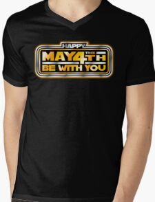 Happy May the 4th!  Mens V-Neck T-Shirt