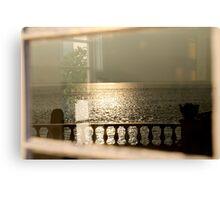 morning shimmer Canvas Print