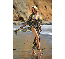 Sexy resort ware on location of CA coastline II Photographic Print