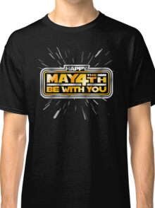 Happy May the 4th! (Yellow/Stars) Classic T-Shirt