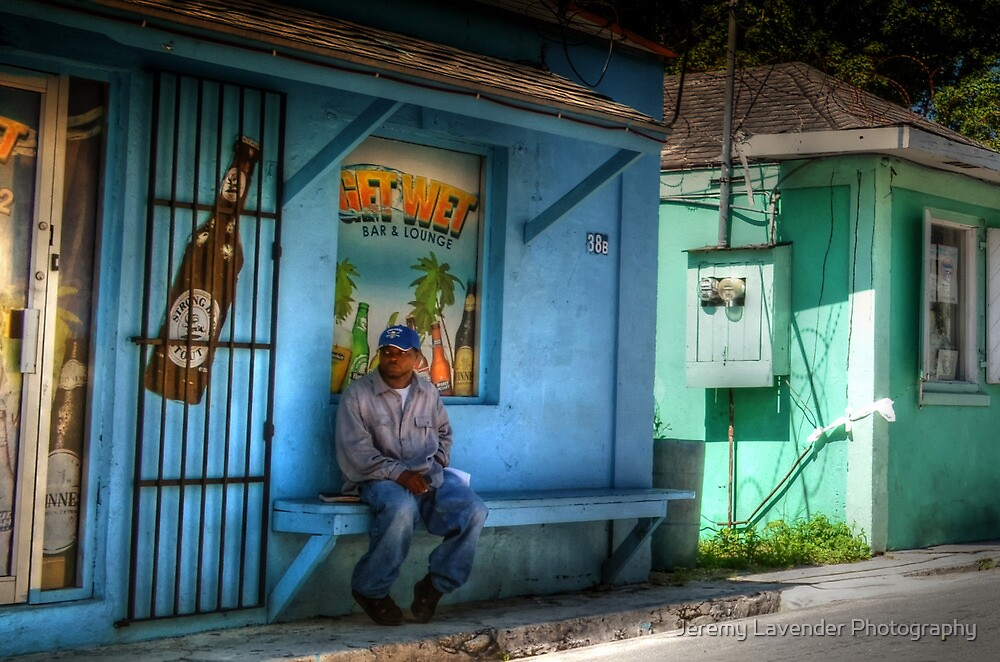 Just chilling in Nassau, The Bahamas by Jeremy Lavender Photography