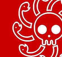 【900+ views】ONE PIECE: Jolly Roger of Nine-snake by Ruo7in