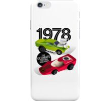 1978 Racers (white) iPhone Case/Skin