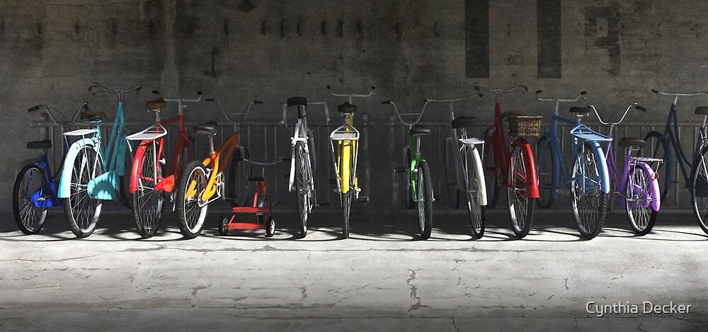 Bike Rack by Cynthia Decker