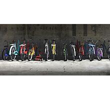 Bike Rack Photographic Print