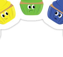 Rainbow Cupcakes! Sticker