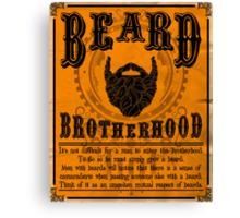 Beard Brotherhood Canvas Print