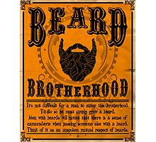 Beard Brotherhood Photographic Print
