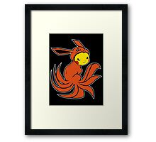 Pickyuubi (Picachu - Nine Tails Fusion) Framed Print