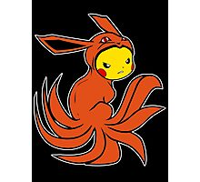 Pickyuubi (Picachu - Nine Tails Fusion) Photographic Print