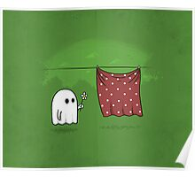 Friendly Ghost Poster