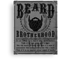 Beard Brotherhood B&W Canvas Print