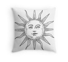 Tumblr Sun Logo Throw Pillow
