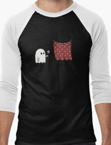 Friendly Ghost Men's Baseball ¾ T-Shirt
