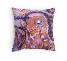 The Eye of the Bird Throw Pillow