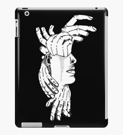don't bite the hand that feeds you iPad Case/Skin
