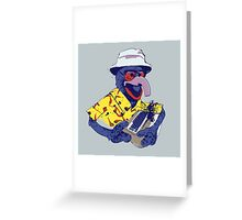 Gonzo Journalism Greeting Card