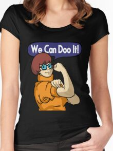 We Can Doo It! Women's Fitted Scoop T-Shirt