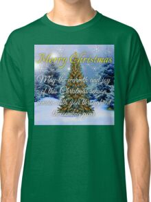 CHRISTMAS TREE Christmas cards Classic T-Shirt