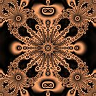 Fractal ceramic tile by snotbubble