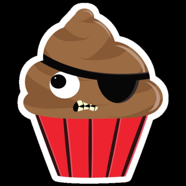 Pirate Cupcake by EmilyListon4