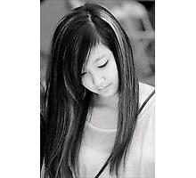 Young Korean Woman Photographic Print
