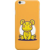 Yellow Teddy Bear iPhone Case/Skin