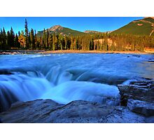 Athabasca Falls in Jasper National Park Photographic Print