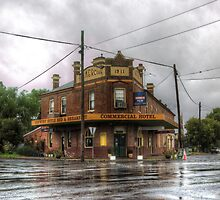 Commercial Hotel, Stockinbingal Rural NSW   Australia  by Kym Bradley