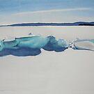 Ice Ridge by Douglas Hunt