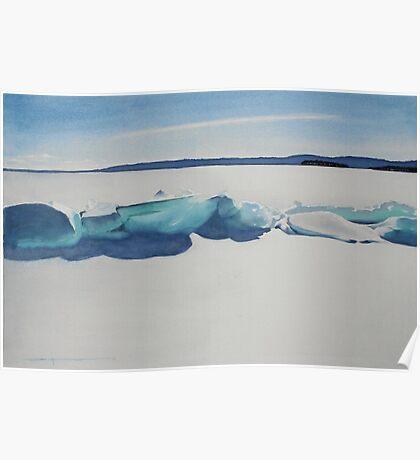 Ice Ridge Poster