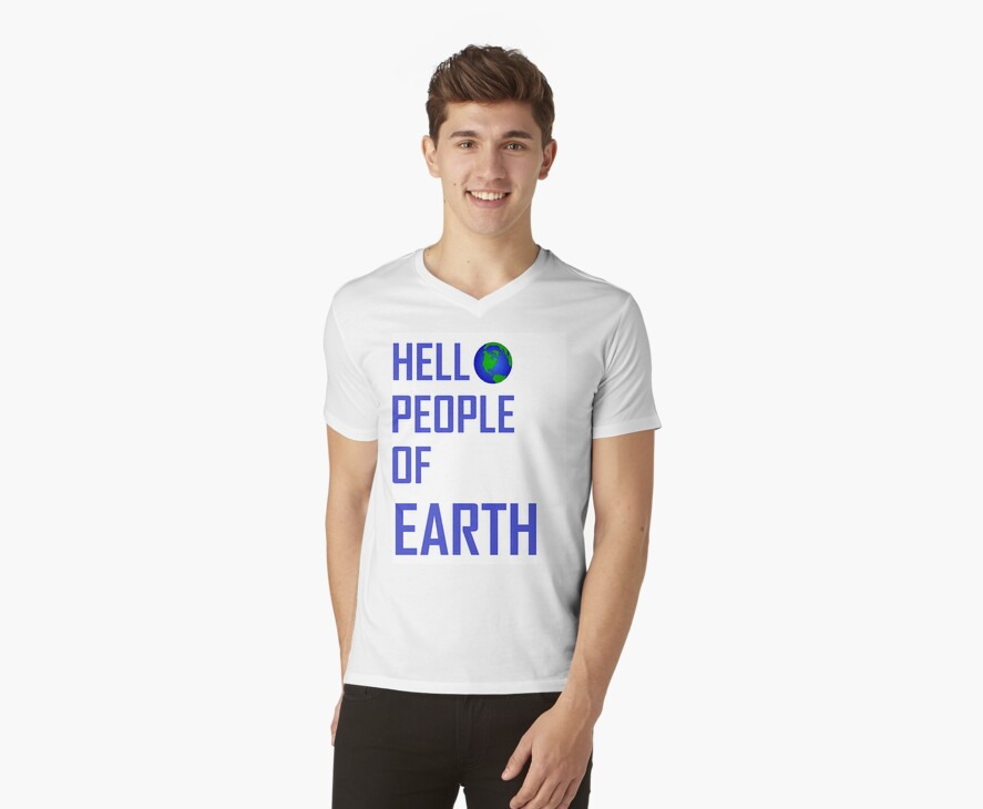 Hello People Of Earth by Eimear Baigent