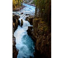 Sunwapta Falls in Jasper National Park Photographic Print
