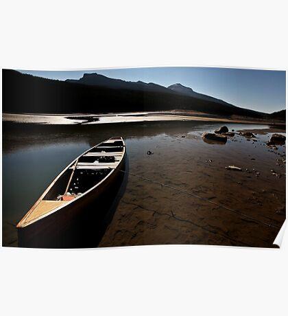 Medicine Lake in Jasper National Park Poster