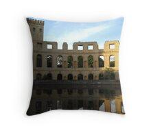 Roman Ruins in Potsdam Throw Pillow