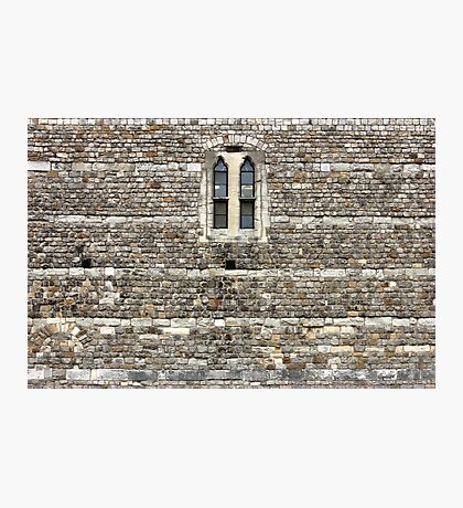 Windsor Castle Wall Detail Photographic Print