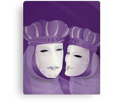 Mascaras Venecianas (3) Canvas Print