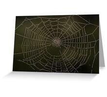 Spider art Greeting Card