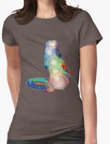 Matsyendrasana digital 2012 as Tshirt Womens Fitted T-Shirt