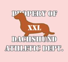 Dachshund Athletic Shirt XXL by dvampyrelestat