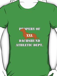 Dachshund Athletic Shirt XXL T-Shirt