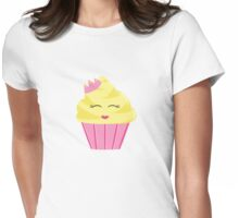 Princess Cupcake Womens Fitted T-Shirt