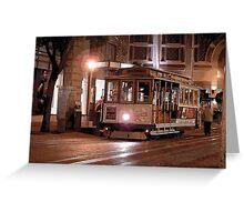 San Fran Trolley Greeting Card