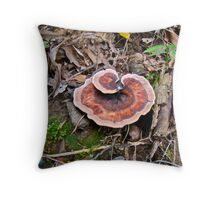 Along The Bank Of The Ditch Throw Pillow