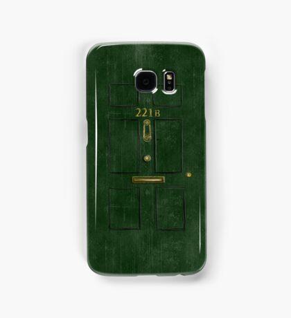 221B Door Samsung Galaxy Case/Skin